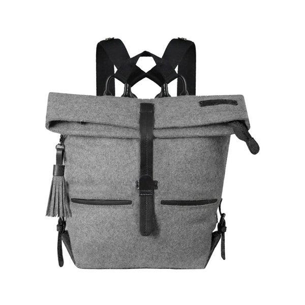 57fd50efa Shop Sherpani Backpack Womens Adjustable Strap Zipper Leather Accent ...