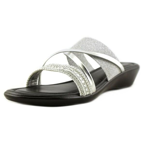 Easy Street Velino Women Silver Sandals