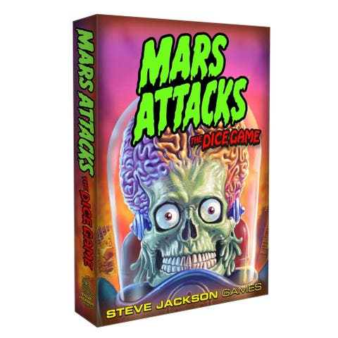 Mars Attacks: The Dice Game - Multi