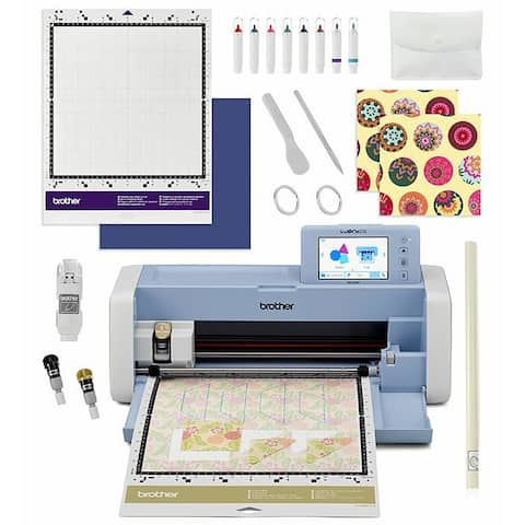 """Brother ScanNCut DX Innov-ís SDX225F Electronic Cutting Machine w/ 1303 Built-In Designs + LCD Touchscreen! - Blue - 12"""" x 12"""""""