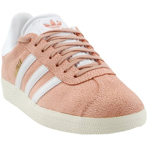 adidas Gazelle Lace Up Womens Sneakers Shoes Casual - Orange