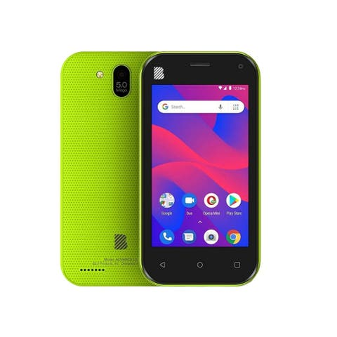 Blu Advance L5 A390L Dual SIM Unlocked GSM Phone w/ 5MP Camera