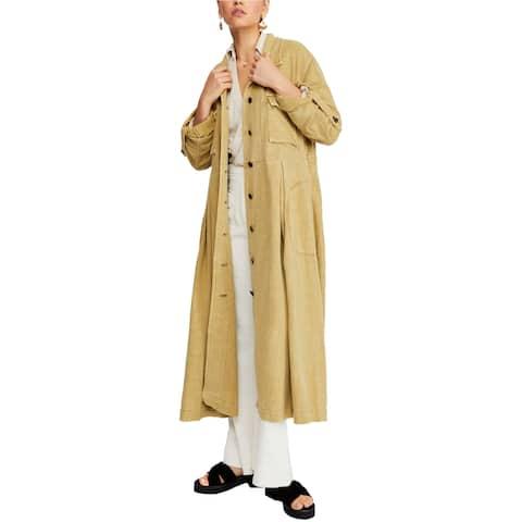 Free People Womens Rainz Duster Jacket