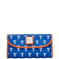 Dooney & Bourke MLB Texas Rangers Continental Clutch Wallet (Introduced by Dooney & Bourke at $128 in Feb 2015)