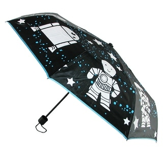 BioWorld Color Changing Star Wars Compact Umbrella - Black - One size