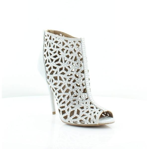Ziginy Drift Women's Heels Silver - 6.5