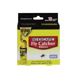 Bonide 46125 Revenge Fly Catcher Ribbons, 10/Pack