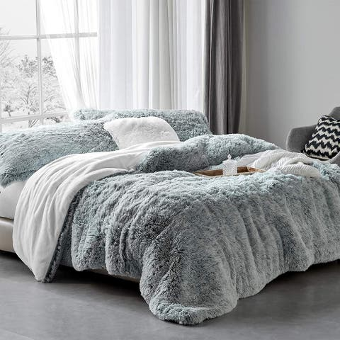 Are You Kidding? - Coma Inducer® Oversized Comforter - Frosted Navy Gray