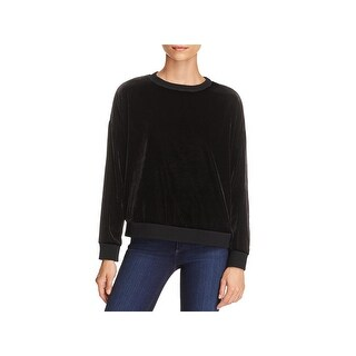 Kenneth Cole Womens Sweatshirt, Crew Velvet Zipper