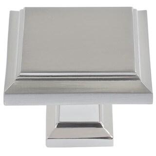 Atlas Homewares 289 Sutton Place 1-1/4 Inch Square Cabinet Knob