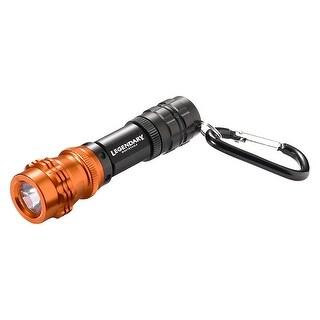 Legendary Whitetails Mini LED Aluminum Bloodhound Flashlight - Black/Orange