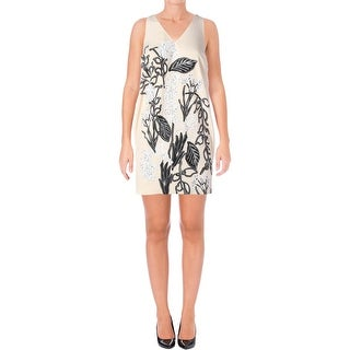 Guess Womens Slip Dress Chiffon Floral Print