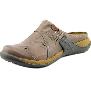 Romika Milla 69 Round Toe Leather Mules