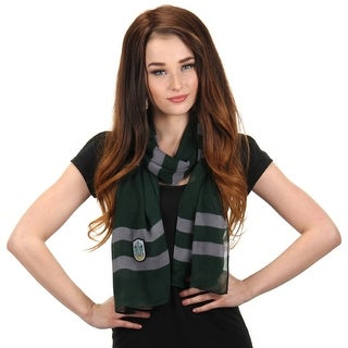 "Harry Potter House Slytherin 67"" Lightweight Women's Costume Scarf"