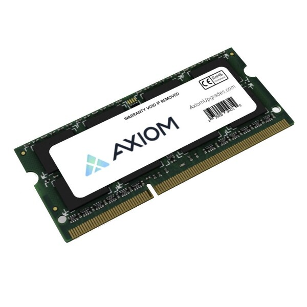 Axion FPCEM759AP-AX Axiom PC3-12800 SODIMM 1600MHz 2GB Module - 2 GB (1 x 2 GB) - DDR3 SDRAM - 1600 MHz DDR3-1600/PC3-12800 -