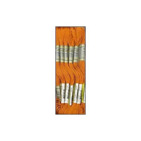 45389 sullivans emb floss 8 7yd lt mahogany