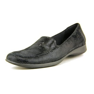 Trotters Jenn Mini Dots Square Toe Leather Flats