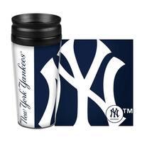 New York Yankees Travel Mug 14oz Full Wrap Style Hype Design
