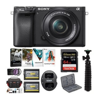 Link to Sony a6400 Mirrorless Digital Camera with 16-50mm Lens Bundle Similar Items in Digital Cameras