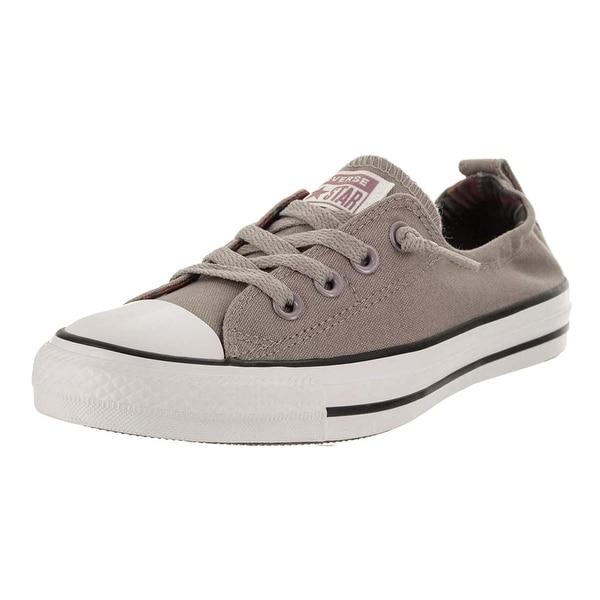 7ecc44eb52d5 Shop Converse Women s Chuck Taylor Shoreline Slip Mercury Grey White Black  Slip-On Shoe 8 Women Us - Free Shipping Today - Overstock - 25662084
