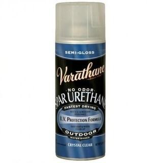 Varathane 250181 Outdoor Crystal Clear Spar Urethane, Semi-Gloss, 11.25 Oz Spray