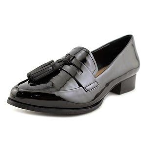 Women black dress shoes size 5