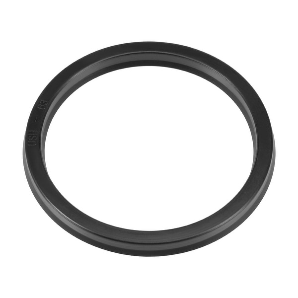 Hydraulic Seal, Piston Shaft USH Oil Sealing O-Ring, 63mm x 73mm x 6mm