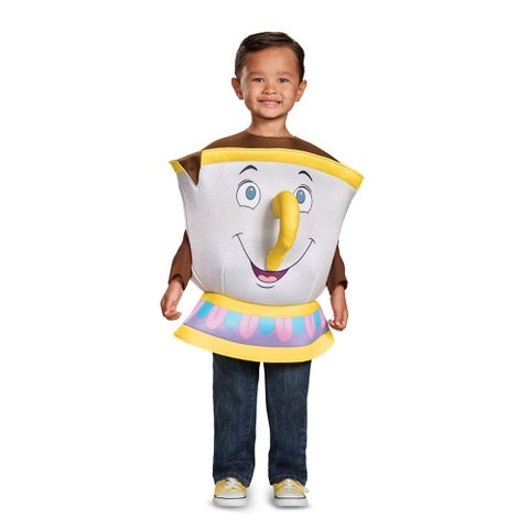 Kids Beauty and the Beast Chip Costume Up to size 6 - one size (size 4-6)