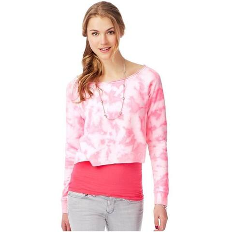 Aeropostale Womens Tye Dye Basic T-Shirt