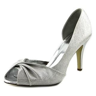 Style & Co Amilli Open-Toe Canvas Heels