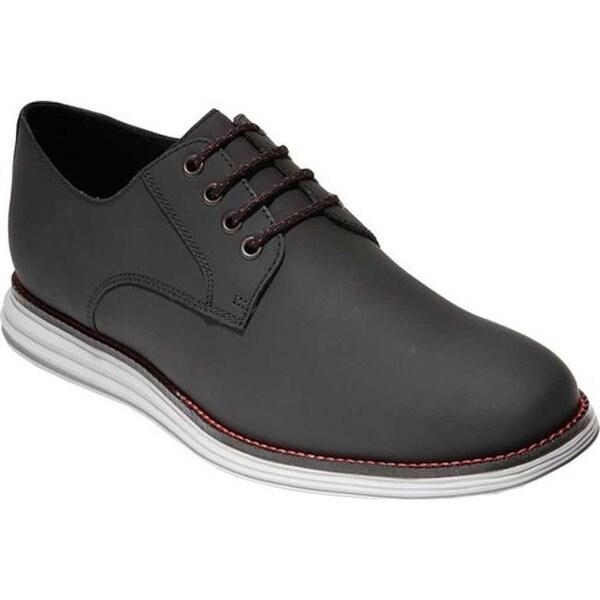 eba9cafe08 Shop Cole Haan Men's W.Original Grand Plain Toe Oxford Black Matte ...