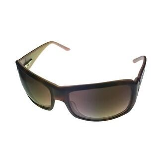 Missoni Womens Sunglass Rectangle Plastic MI 616 2 Tortoise Brown Gradient Lens - Medium