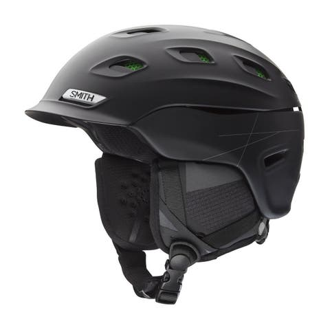 Smith Vantage Asian Fit Adult Snow Sports Helmet - Matte Black - Medium