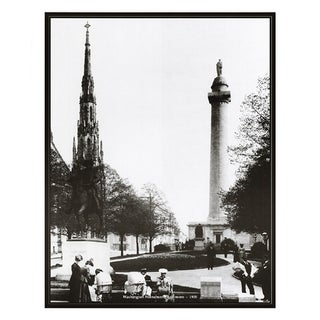 ''Washington Monument, Baltimore, 1905'' by Anon Architecture Art Print (20 x 16 in.)