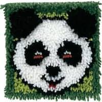 "Panda Wonderart Latch Hook Kit 8""X8"""
