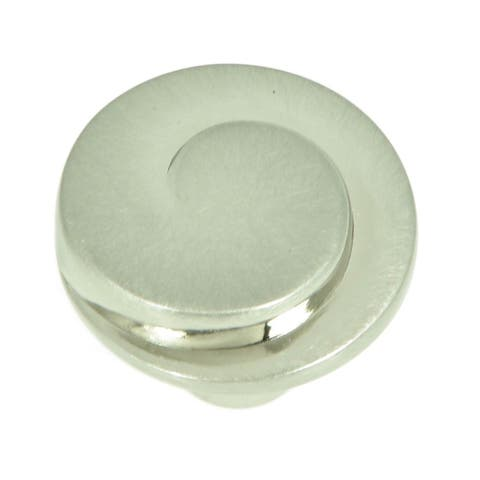 Stone Mill Hardware - Satin Nickel Hawthorne Cabinet Knobs (Pack of 10)