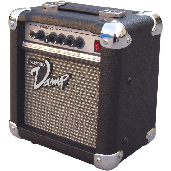 20 Watt Vamp-Series Amplifier With 3-Band EQ