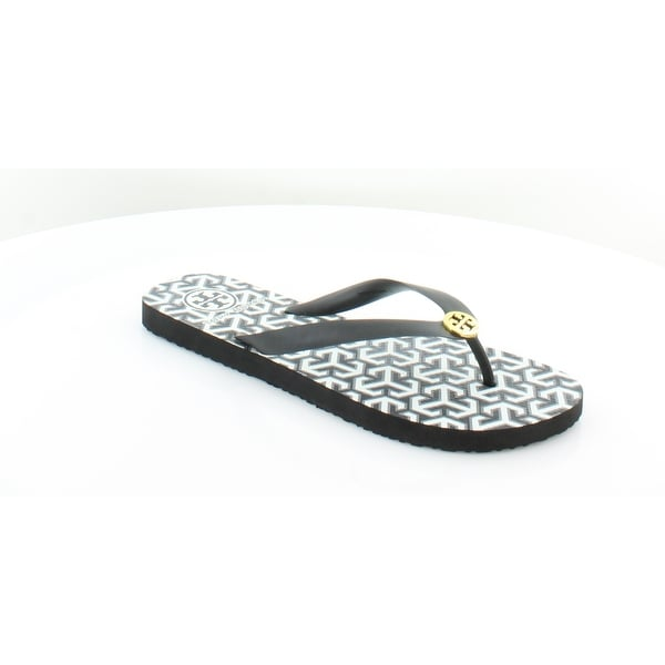 7007b28bc Shop Tory Burch Rubber Flip Flop Women s Sandals   Flip Flops Black ...