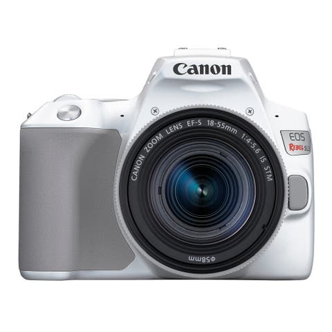 Canon EOS REBEL SL3 (WH) + EF-S18-55mm f/4-5.6 IS STM kit