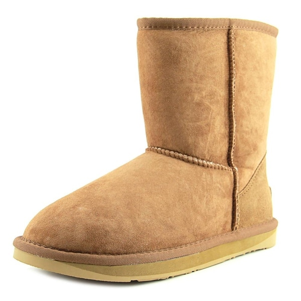 Australia Luxe Collective Cosy Women Round Toe Canvas Brown Winter Boot