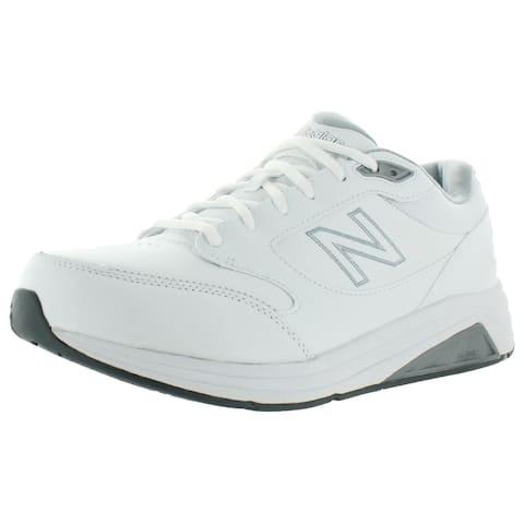 New Balance Mens 928 v3 Walking Shoes Leather Padded Insole - White