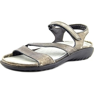 Naot Etera Women Open-Toe Leather Bronze Sport Sandal