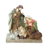 "14.5"" Holy Family Religious Nativity Scene Christmas Figurine - Brown"