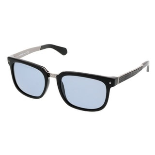 Roberto Cavalli RC 835/S 01V Black Rectangular Sunglasses
