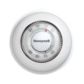Honeywell CT87K Non-Programmable Round Thermostat, Mercury Free