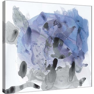 """PTM Images 9-100931  PTM Canvas Collection 12"""" x 12"""" - """"Amorphous I"""" Giclee Abstract Art Print on Canvas"""