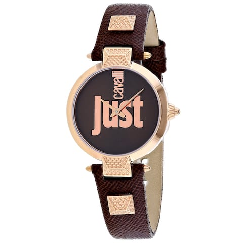 Just Cavalli Women's Just Mio Brown Dial Watch - JC1L076L0045 - One Size