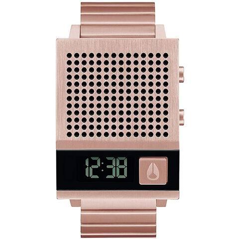 Nixon Men's Dork Too Black Dial Watch - A126-6897 - One Size