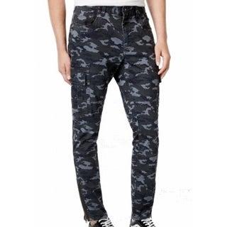 American Rag NEW Gray Gunmetal Mens Size 36X30 Jogger Camo Pants