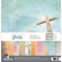 """Faith - Paper House Paper Crafting Kit 12""""X12"""""""